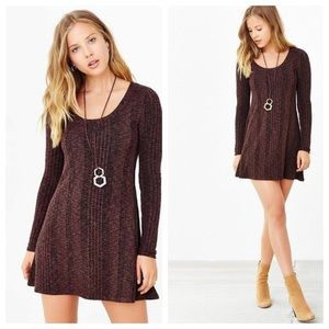 BDG Urban Outfitters Ribbed A Line Sweater Dress